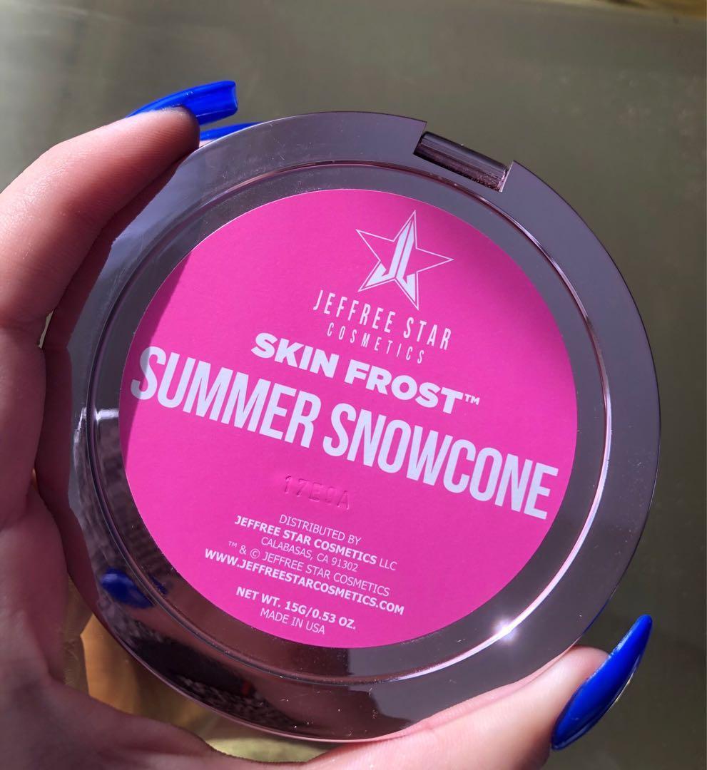 Jeffree Star Cosmetics Skin Frost - Summer Snowcone