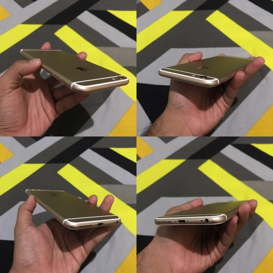 jual cepat iPhone 6 plus 16 gb fullset bonus bayak case