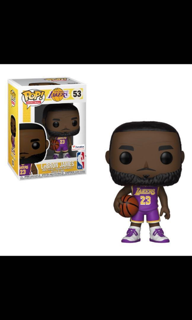 reputable site a2e8f a6b83 Lebron James Lakers FUNKO POP Fanatics Exclusive BNIB