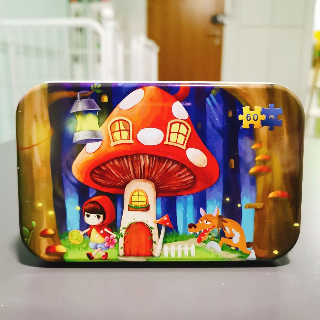 Little Red Riding Hood Children Wooden Puzzle (60 pieces)