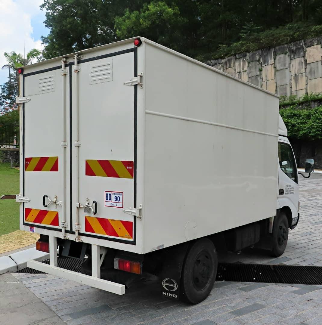 LORI HINO WU300 4.0CC MANUAL BONDED 2500 TON GREEN ENGINE