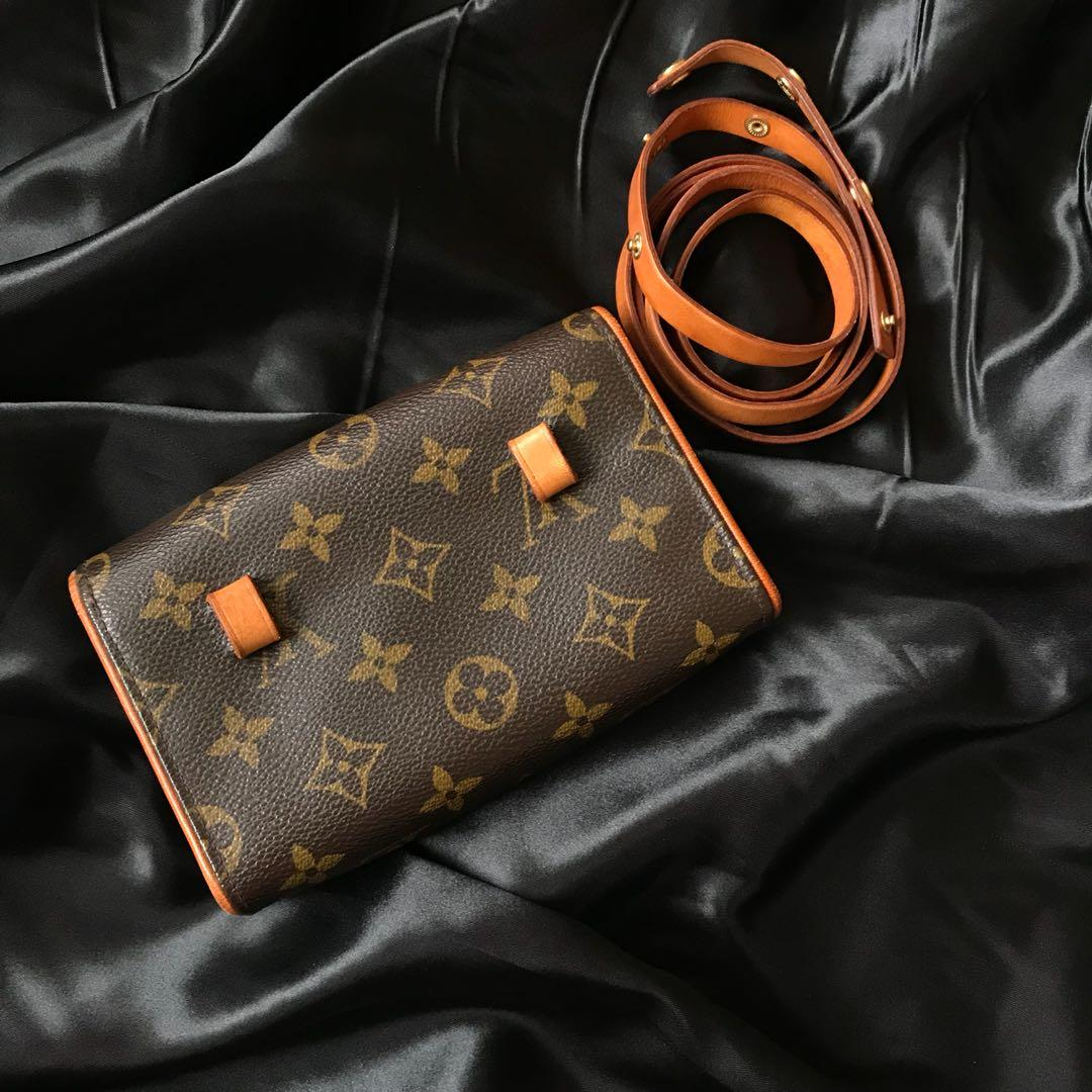 Louis Vuitton LV Monogram Pochette Florentine Waist bag