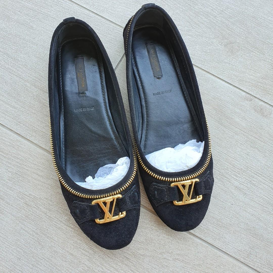 bda803fa280 Louis Vuitton Oxford Ballerina Flats 38.5