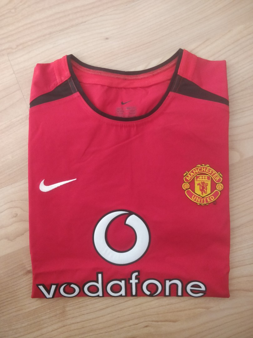 333a25dd5fc Manchester United 02 03 Home Jersey