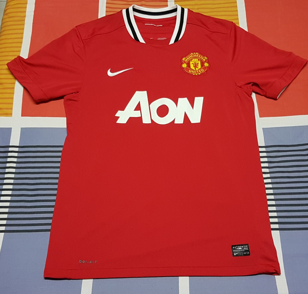 50c4567e7 Manchester United 2011 2012 Home Jersey