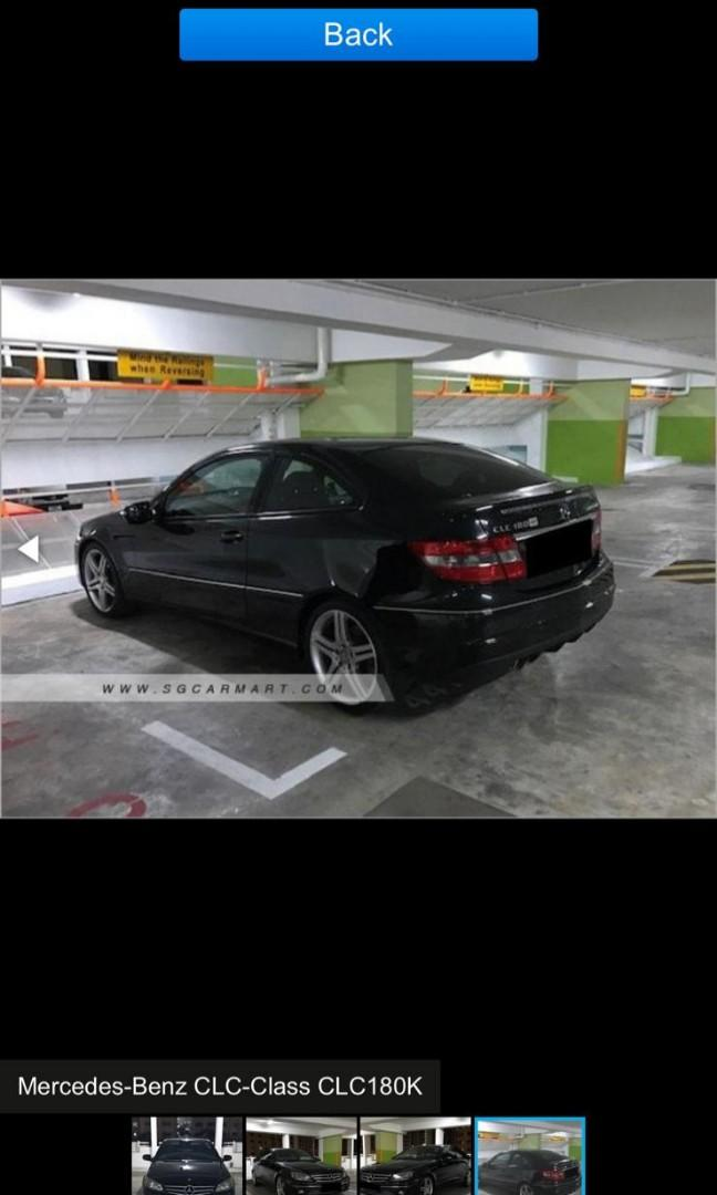 Mercedes Coupe for rent