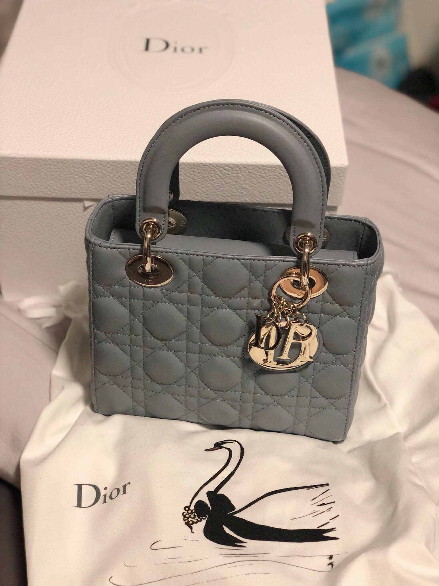 c69c35706c My Lady Dior (Brand New), Luxury, Bags & Wallets, Handbags on Carousell