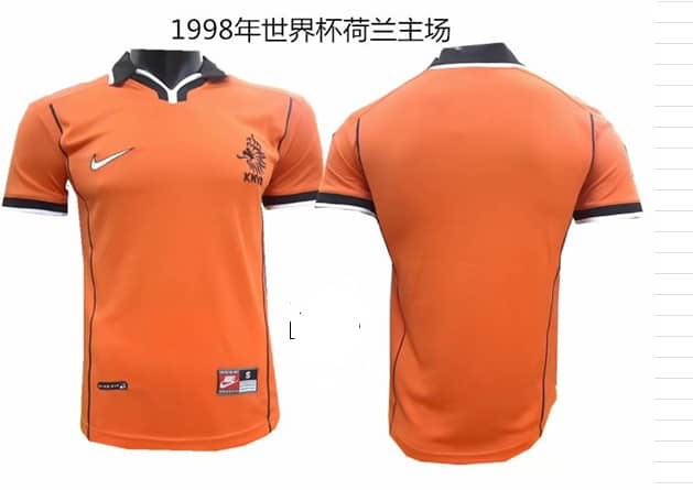 the latest 8044a 4fecf Netherlands Retro jersey 1998