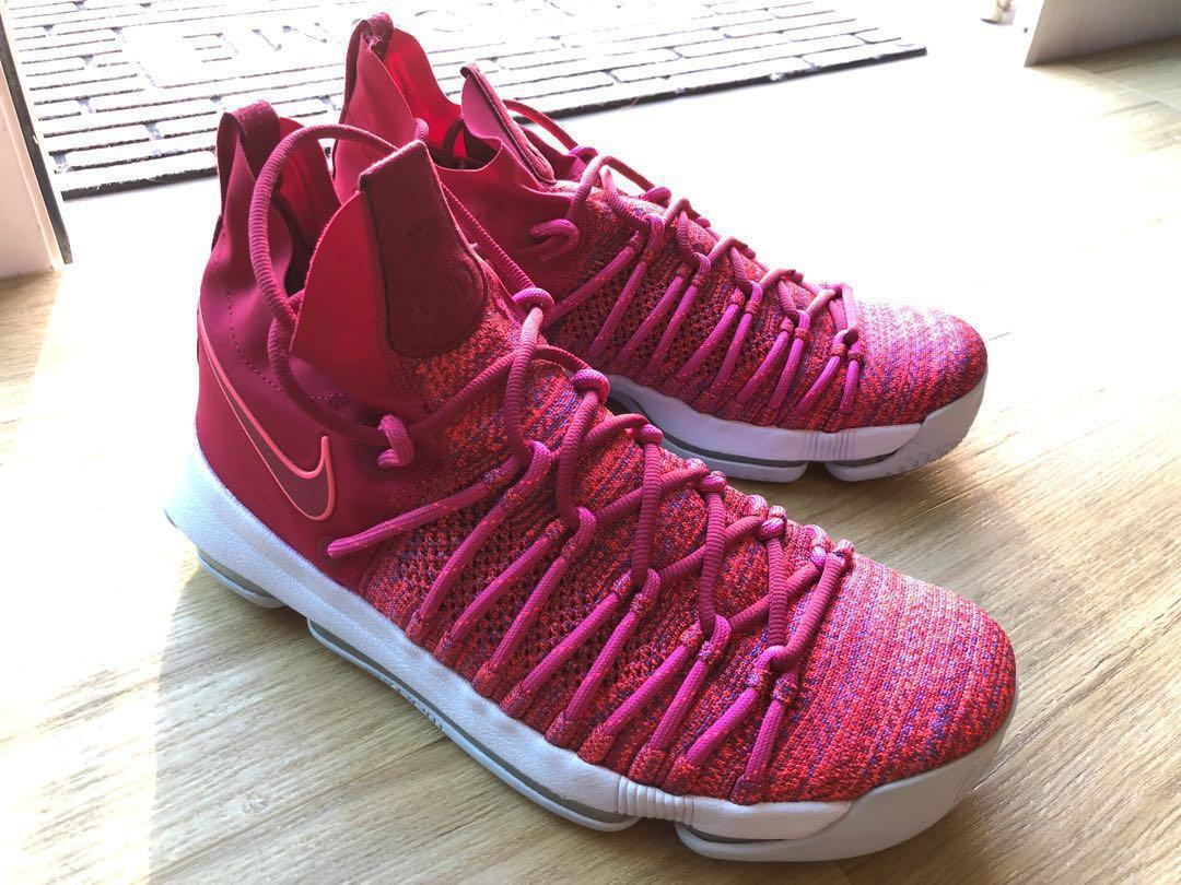 the best attitude 46f90 b4cac Nike Zoom KD 9 Elite Mother Pink shoe, Sports, Sports ...