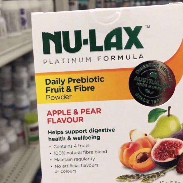 Nu-Lax Daily Prebiotic Fruit & Fibre Powder 扛餓粉