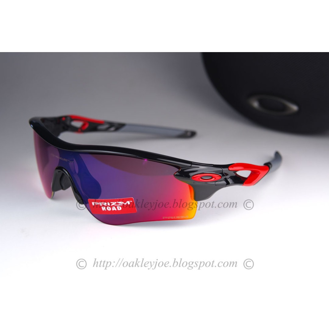 07be50c7d95 Oakley Radarlock Path Asian Fit polished black + prizm road oo9206 ...