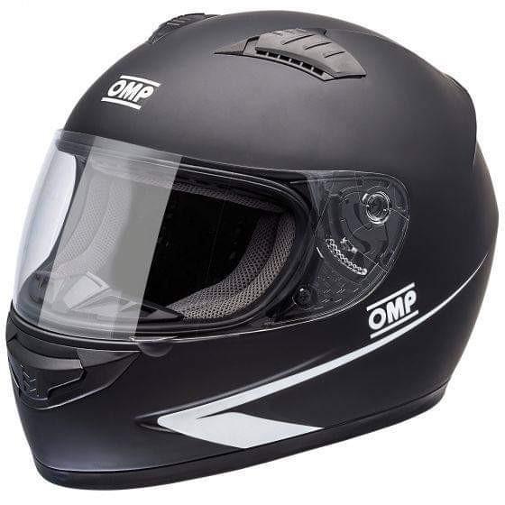 OMP Circuit Helmet – Black 頭盔 (Size: M)