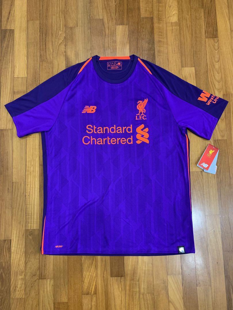 newest collection b6c11 8eb15 Original Liverpool 2018/19 2nd Away Kit, Sports, Sports ...