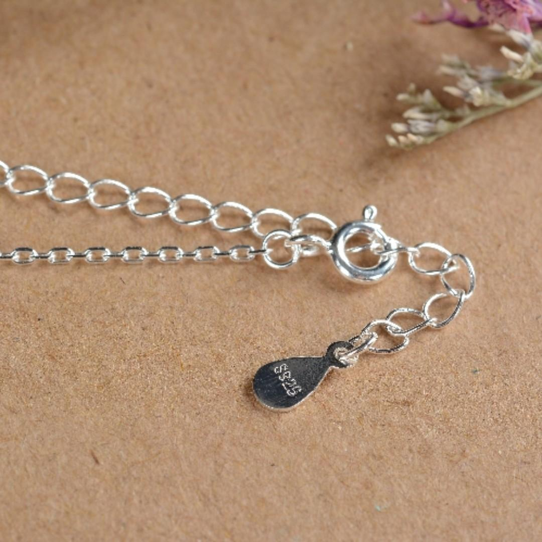 Pearl on Lotus S925 Necklace
