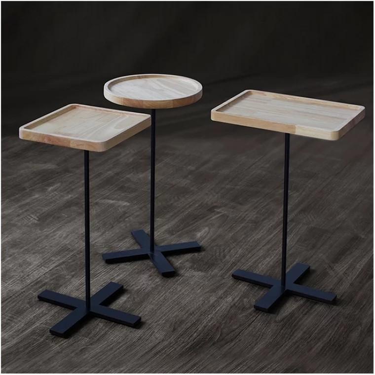 Phenomenal Penny Modern Industrial Solid Wood Side Table Furniture Inzonedesignstudio Interior Chair Design Inzonedesignstudiocom