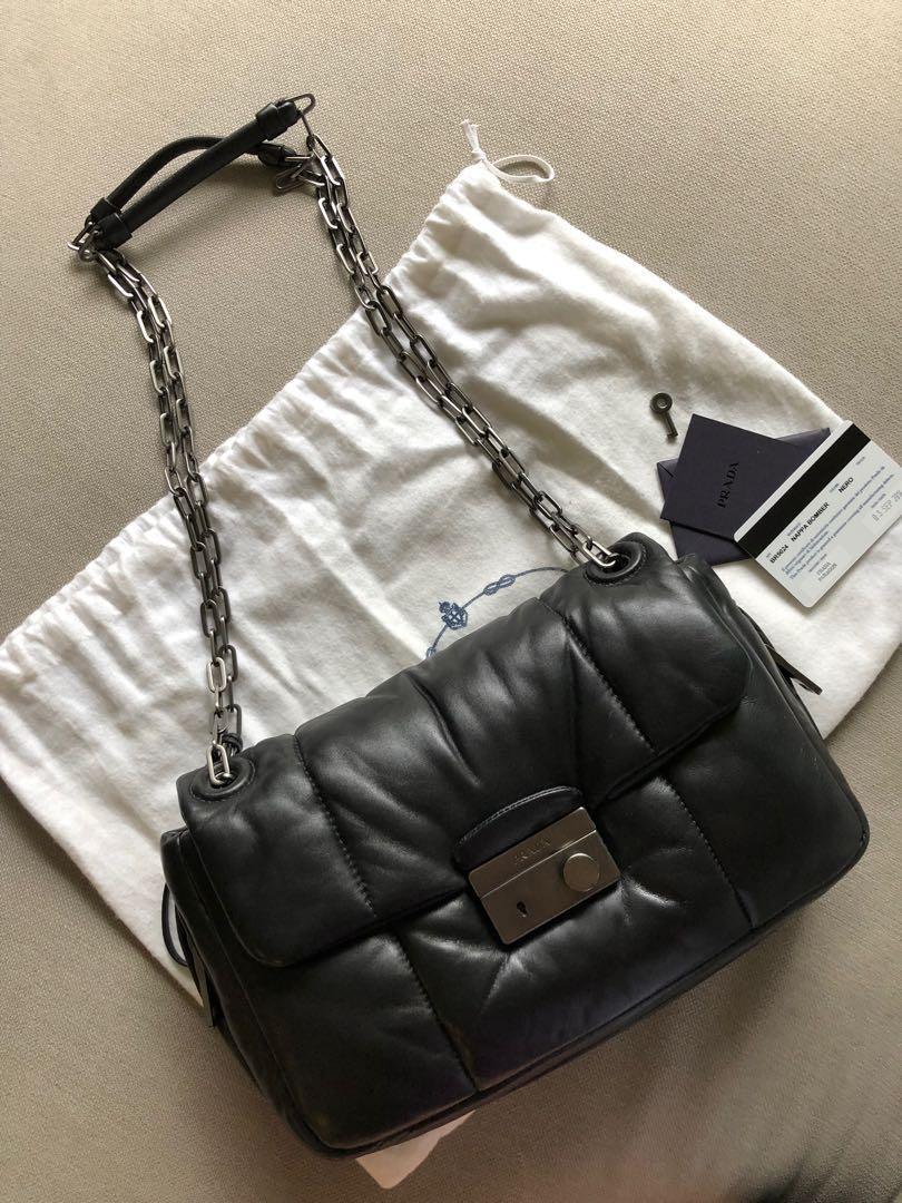 3ff6520c0c68 Prada Nappa bomber handbag, Women's Fashion, Bags & Wallets, Handbags on  Carousell