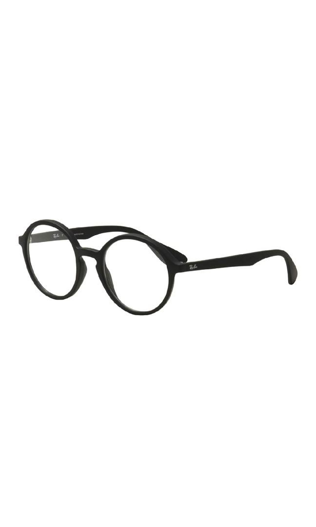 cbadc0d620448 Ray ban RX7075-5364 Eyeglasses Black w Clear Demo Lens 49mm