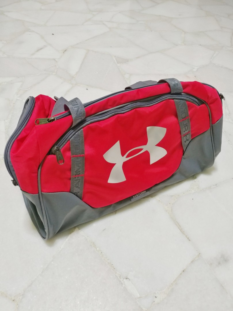 8a2b9a583a Red Under Armour Duffle Bag 👍💪, Sports, Weights & Gym Equipment on ...