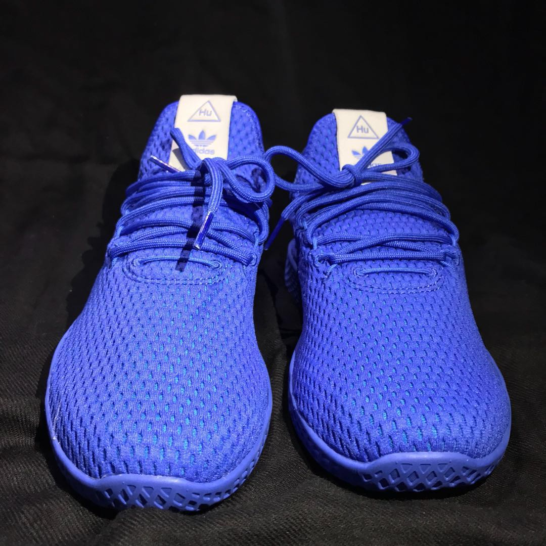 73c6b2c39 REPRICED! Adidas Youth Pharrell Williams PW Tennis Hu Shoes