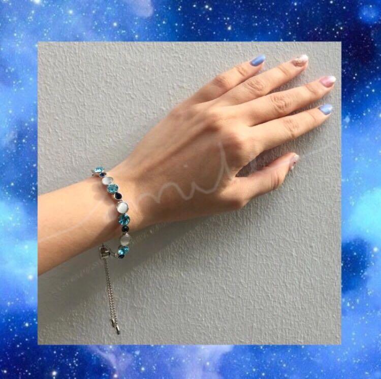 Rhinestone Adjustable Bracelet