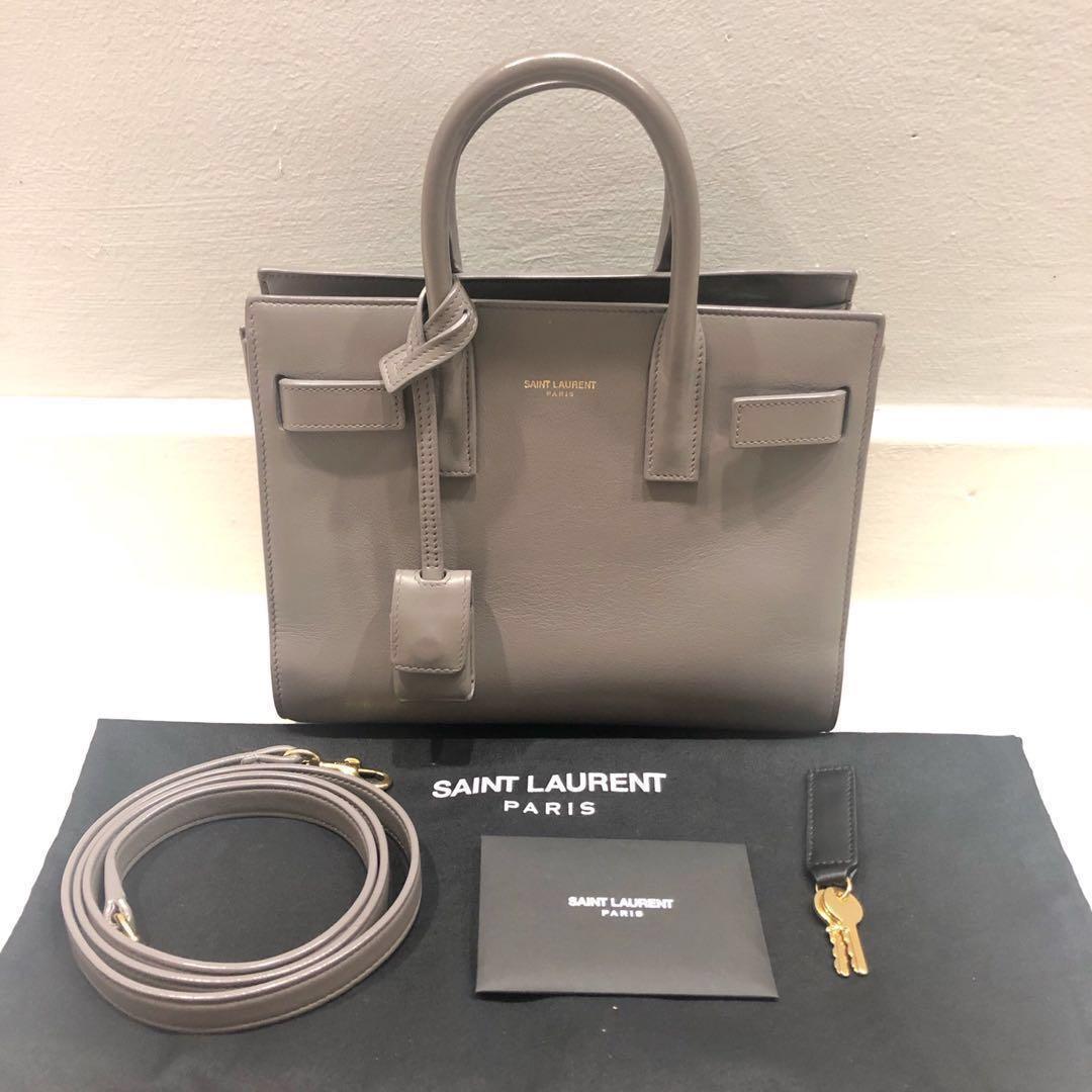 0a0823afbb2 Saint Laurent Sac De Jour Nano, Luxury, Bags & Wallets, Handbags on ...
