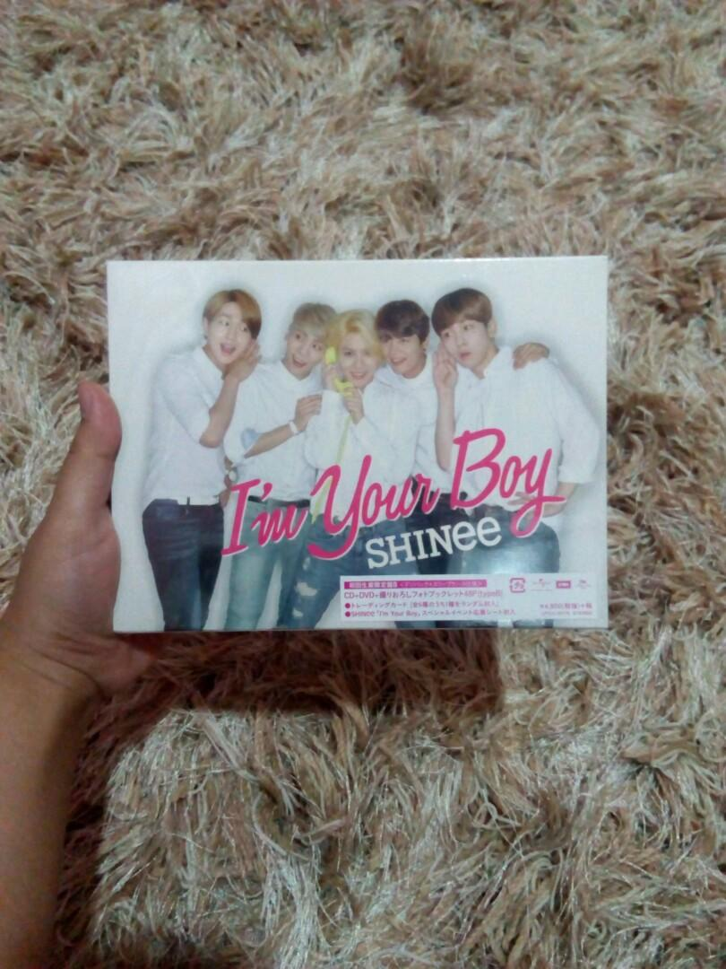SHINee I'm Your Boy Limited Ver. Type B Japan Press