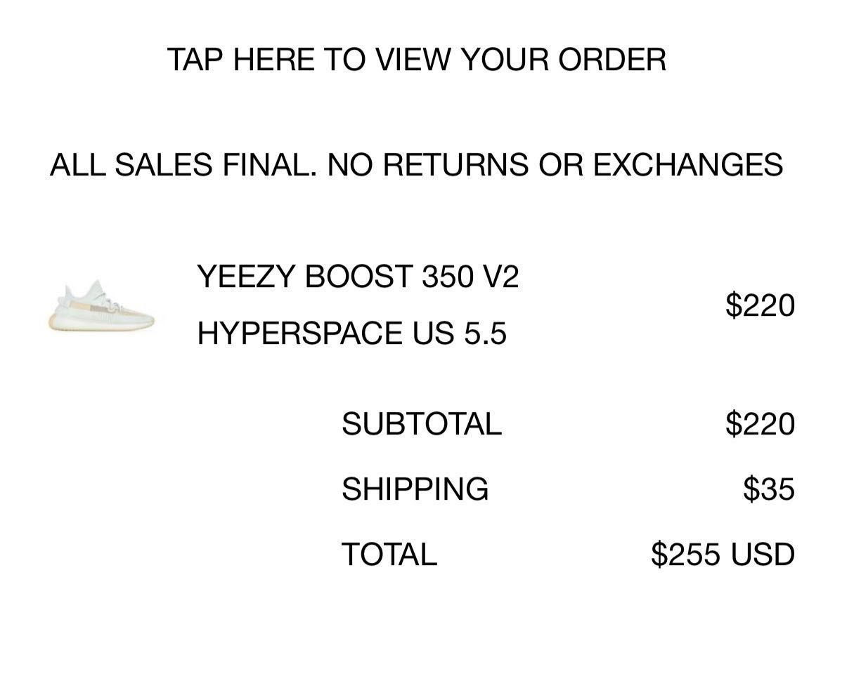 57daca66a Stock Ready Yeezy Boost 350 V2 Hyperspace Bae Sizes