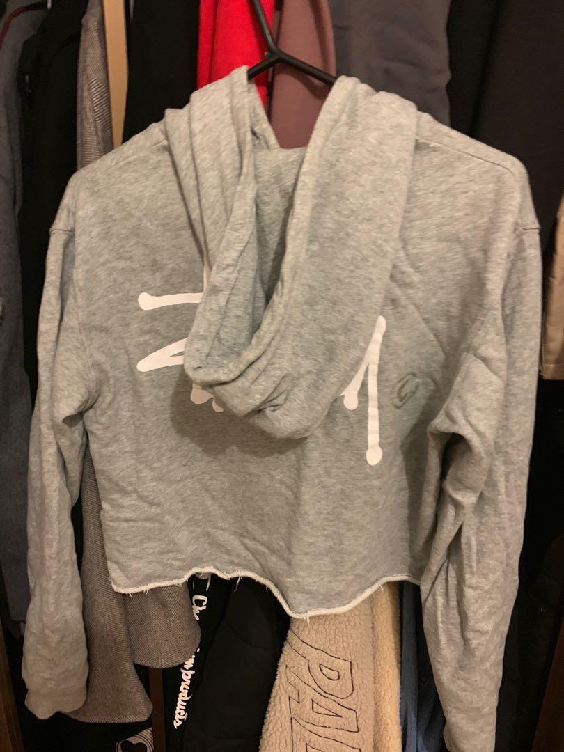 Stussy cropped hoody