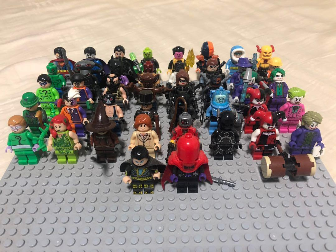 Super Heroes Lego Compatible Decool Sheng Yuan Sy Toy Brick Figure Marvel Dc Batman Superman Justice League Flash Green Lantern Joker Black Adam Riddler Rogue Penguin Bane Scarecrow Super Villains Toys