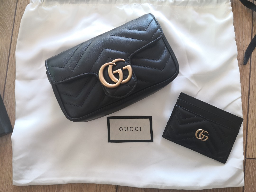 8ac411427509 Super mini Gucci Marmont (preorder), Luxury, Bags & Wallets, Sling ...
