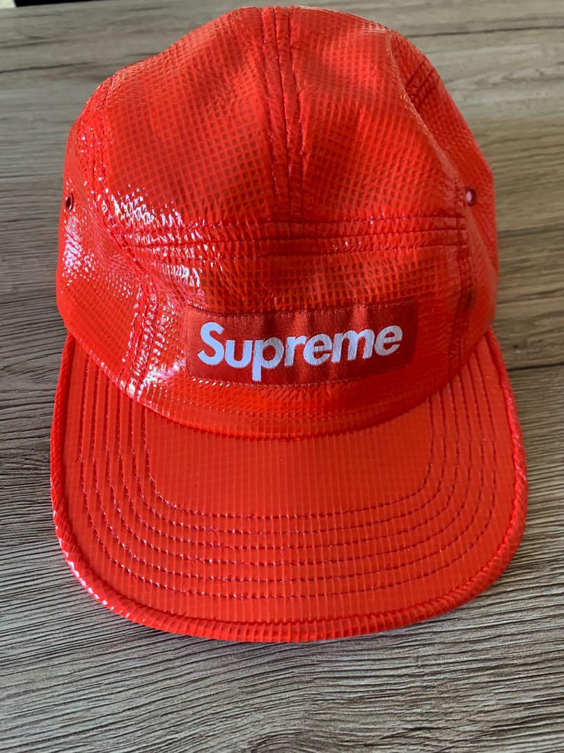 34623450d4246 Supreme Cap Red - Authentic