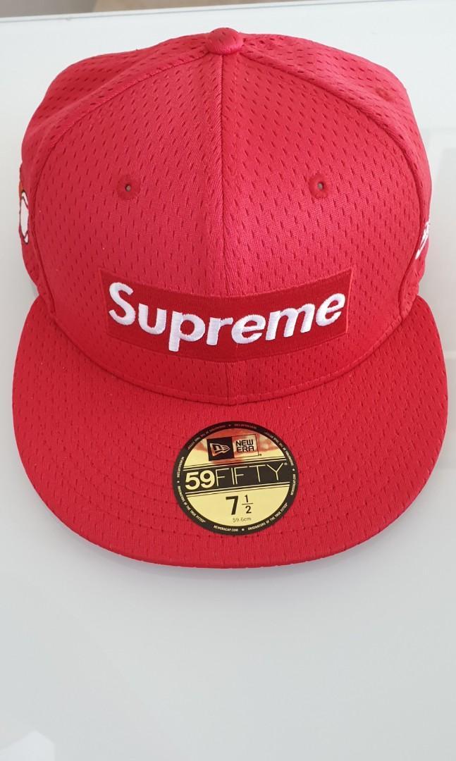 a452bb2d Supreme Mesh Bogo Cap, Men's Fashion, Accessories, Caps & Hats on ...