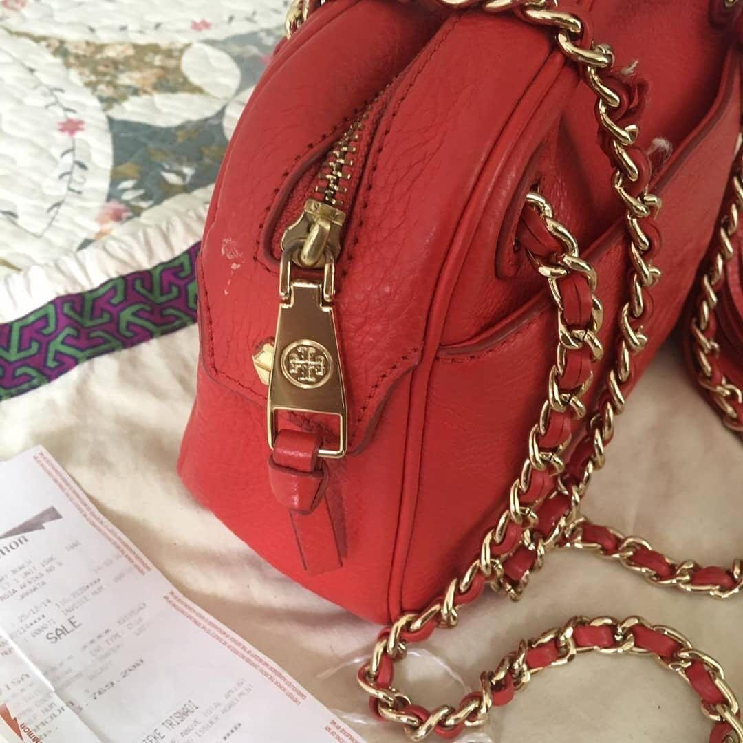 Tas preloved Tory Burch Authentic ( with receipt Plaza Senayan ) like new