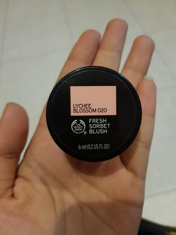 The body shop fresh blush sorbet, liquid cream blush NEW segel