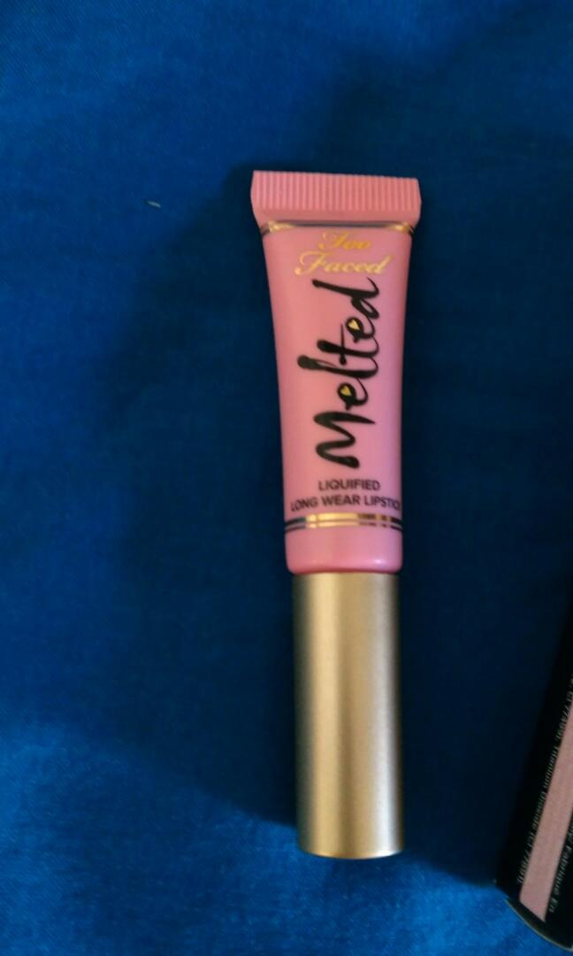 Too Faced Deluxe Melted Lipstick - Peony #SwapAU