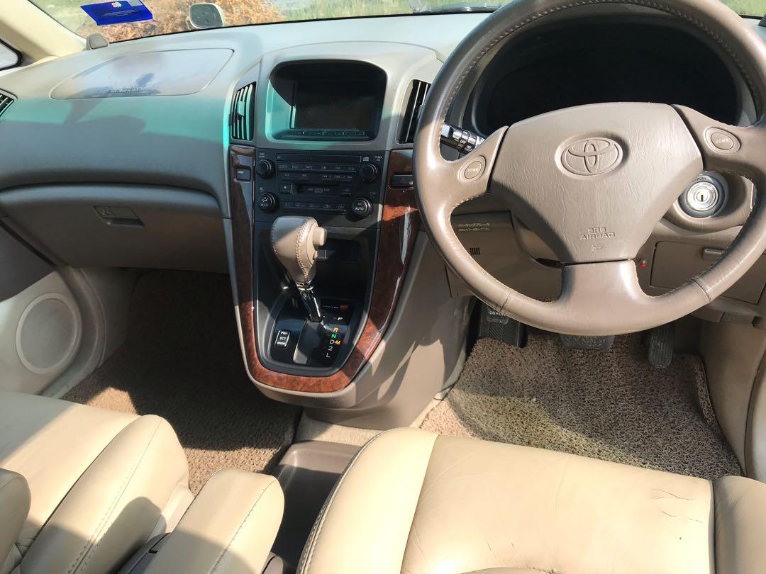 Toyota Harrier 3.0 Auto V6 1998/2000 Condition Like New