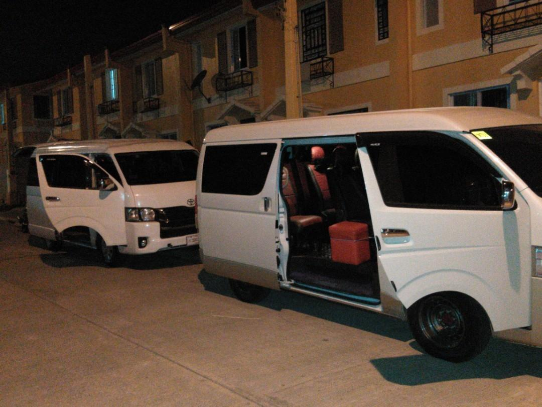 Van rentals,. Accept all mmanila and provincil trips,.09554629634