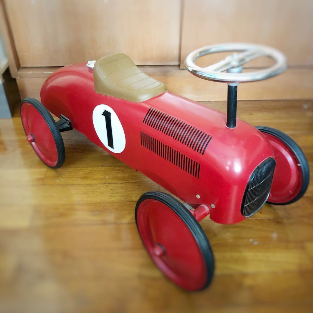 a0e3c0ca5bcc Vintage Retro Petal Car Rides Kids Children