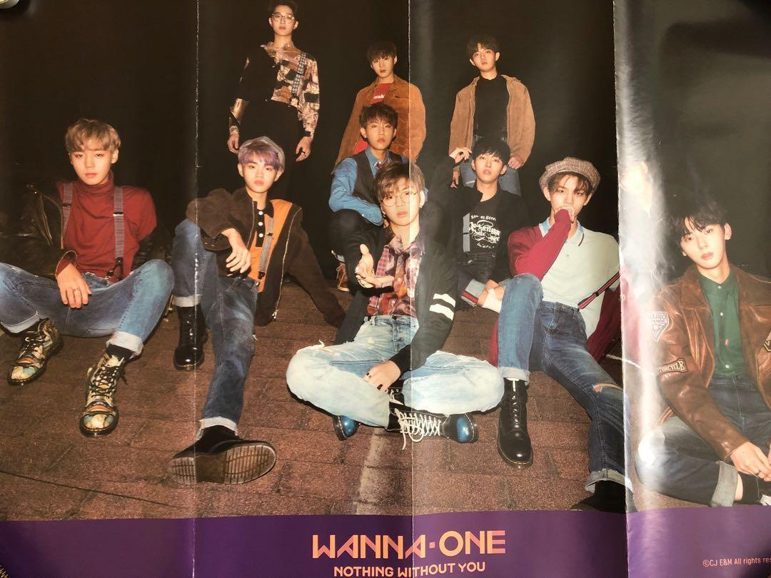 Wanna One Nothing Without You: Official Group Poster