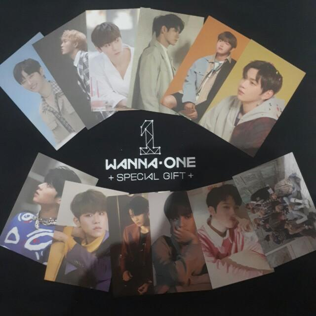 Wanna One Therefore Special Gift Photocard Set