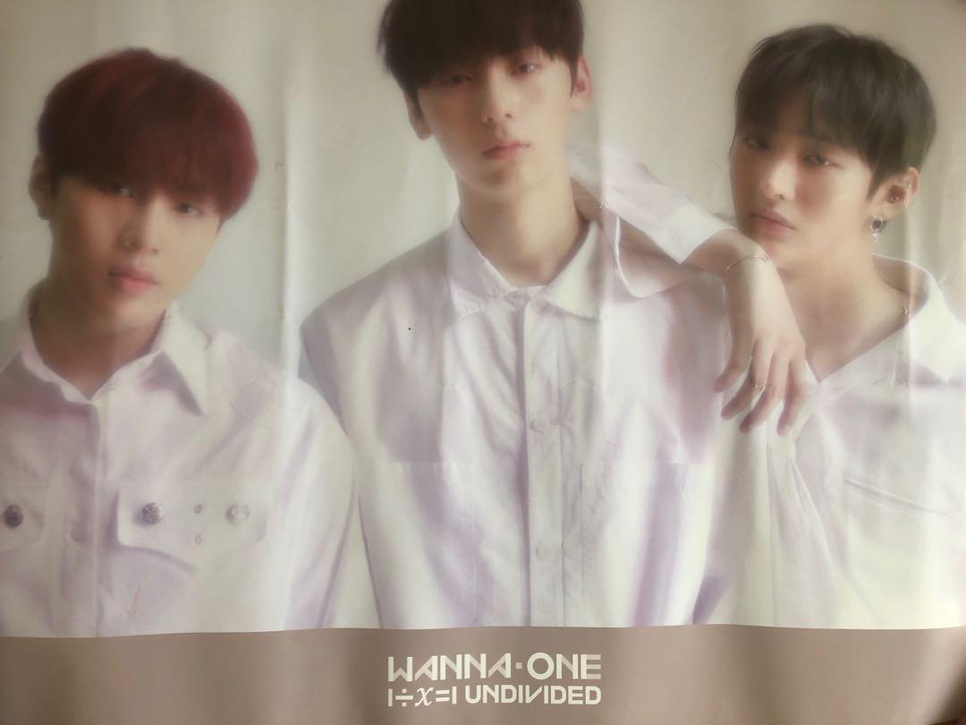 Wanna One Undivided: Official Unit The Heal Poster