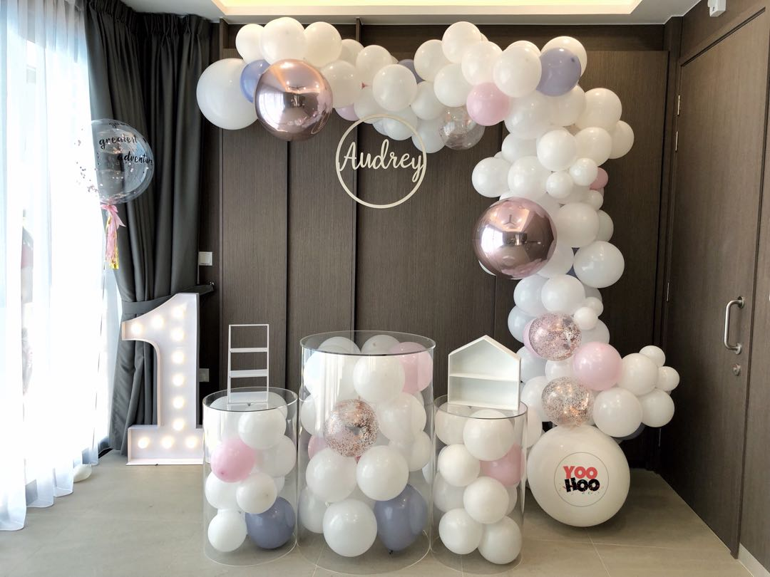 Wedding Recep Baby Shower 100 Days 1 Year Old Party Ideas