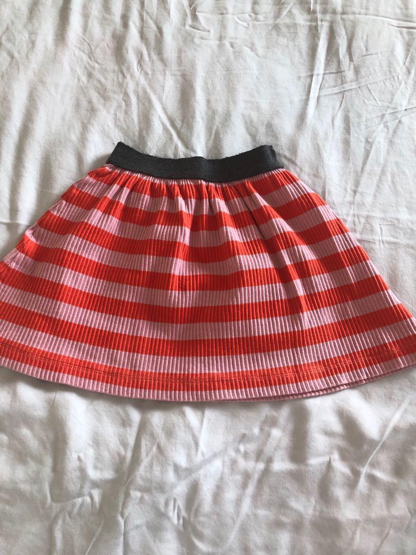 e494aa3f9 Zara Girls knitted skirt, Babies & Kids, Girls' Apparel, 4 to 7 ...