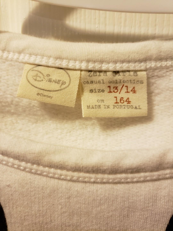 Zara Mickey Mouse Sweatshirt Youth Size 13-14 Fits Ladies XS
