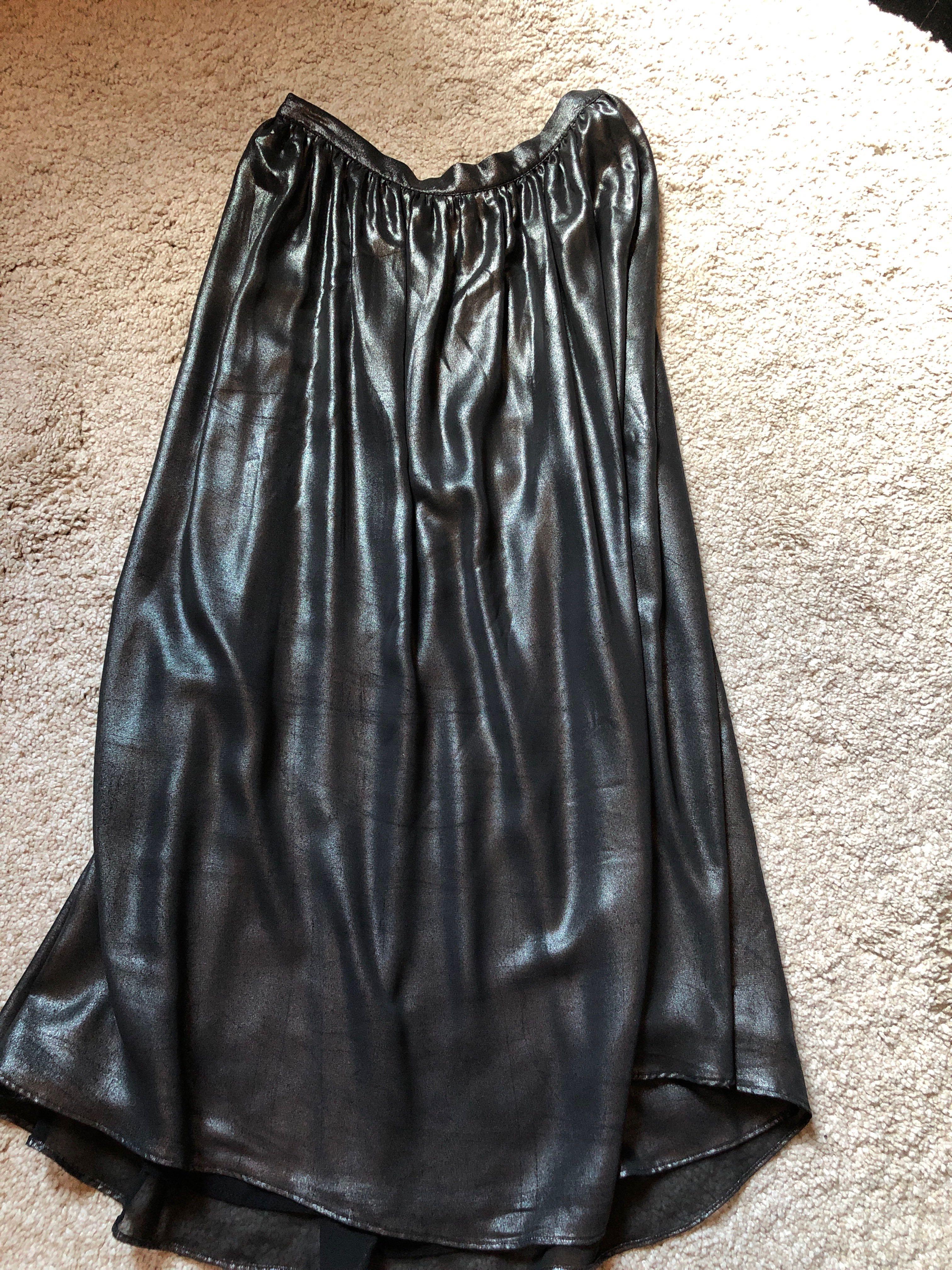 821c174ce5b Zara shimmer skirt, Women's Fashion, Clothes, Dresses & Skirts on Carousell
