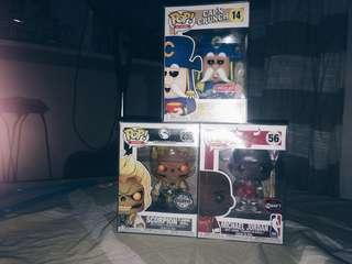Exclusive funkos for 1000 each