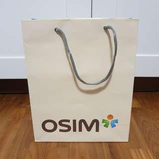Osim Brand Paper Bag / Carrier