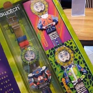 Jam Tangan anak swatch