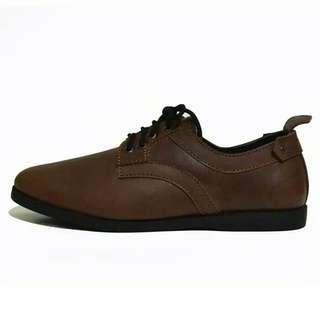 Sepatu kulit asli Pria