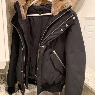 mackage bomber jacket